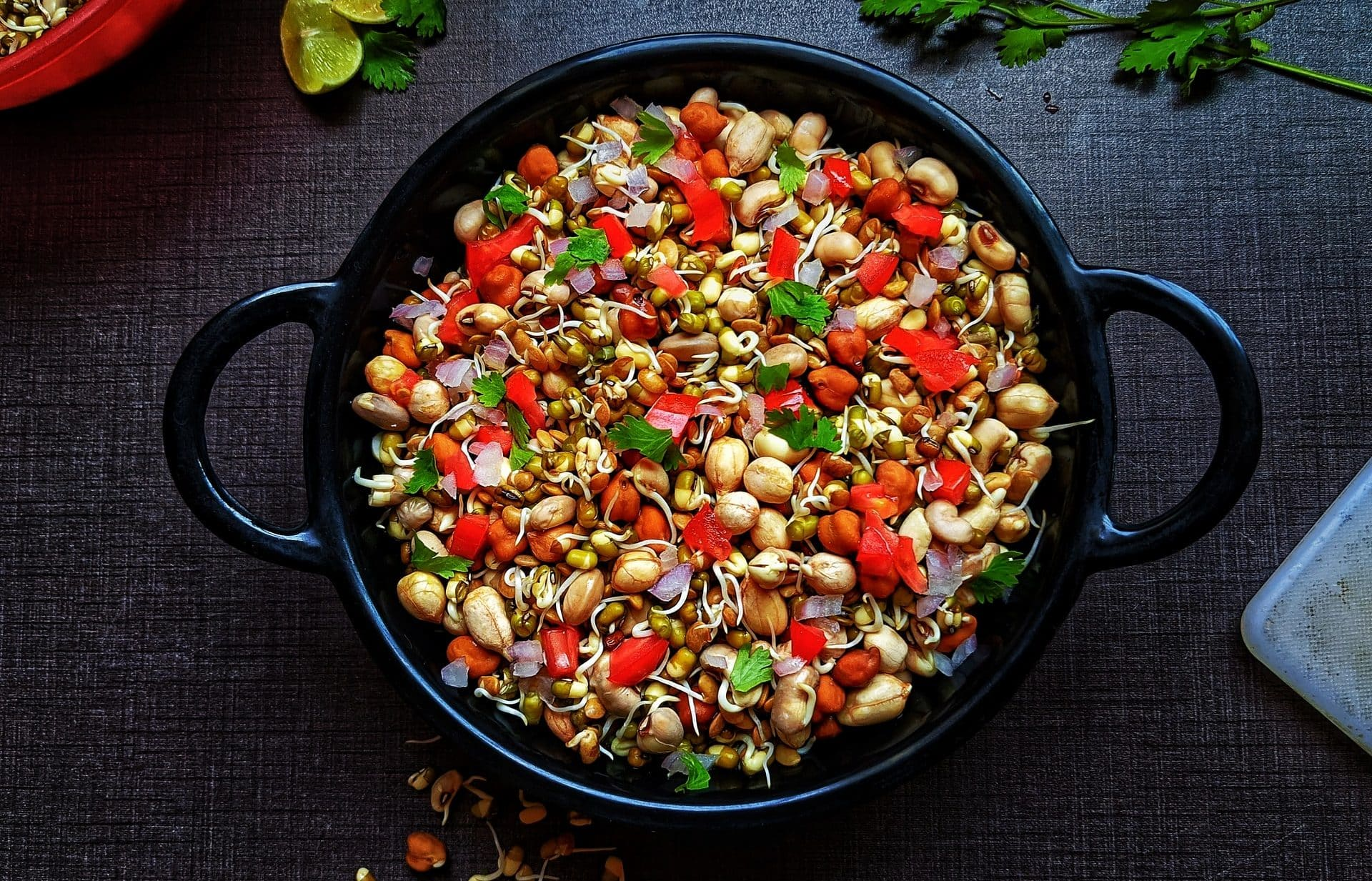 Healthy And Hearty Sprouts Masala - Plattershare - Recipes, Food Stories And Food Enthusiasts