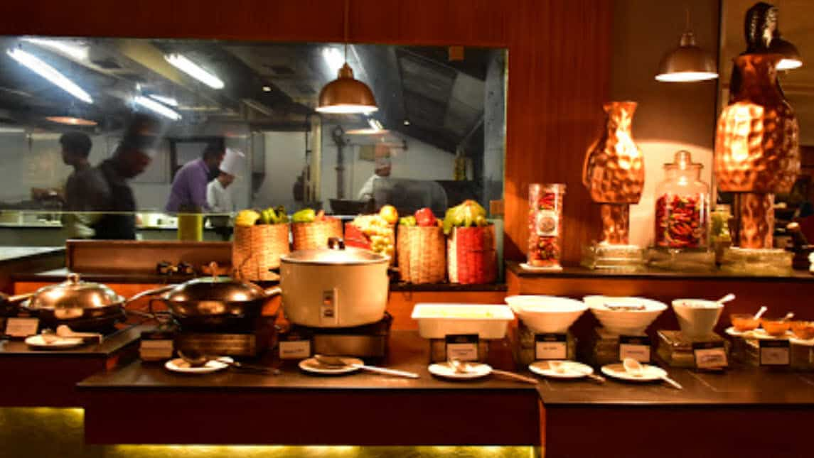 Global Cuisine In Buffet - Plattershare - Recipes, Food Stories And Food Enthusiasts