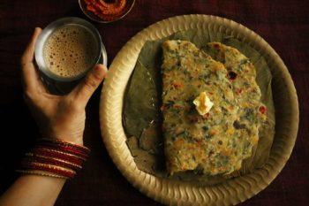 Mixed Vegetable Akki Roti Recipe