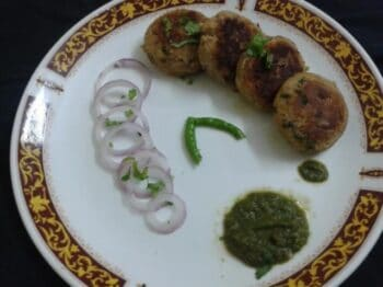Jack Fruit Shami / Kathal Ke Kebab - Plattershare - Recipes, Food Stories And Food Enthusiasts
