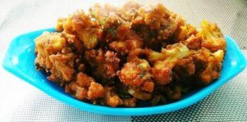 Masala Cauliflower Pakoras - Plattershare - Recipes, Food Stories And Food Enthusiasts