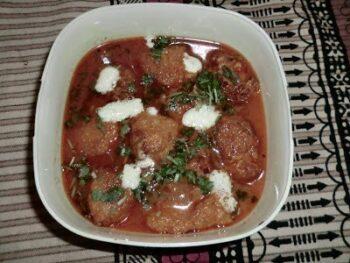 Lauki Ke Kofte / Bottle Gourd Kofta Curry - Plattershare - Recipes, Food Stories And Food Enthusiasts