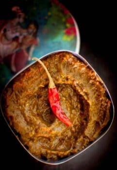 Banana Peel Chutney - Plattershare - Recipes, Food Stories And Food Enthusiasts