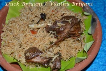 Duck Briyani - Plattershare - Recipes, Food Stories And Food Enthusiasts