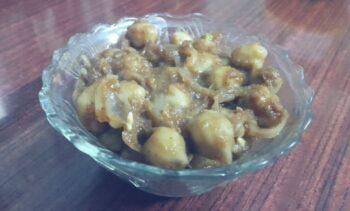 Chana Masala - Plattershare - Recipes, Food Stories And Food Enthusiasts