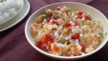 Sago Khichdi - Plattershare - Recipes, Food Stories And Food Enthusiasts