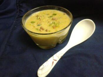 Besan Ki Kheer/ Roasted Chickpeas Flour Pudding - Plattershare - Recipes, Food Stories And Food Enthusiasts