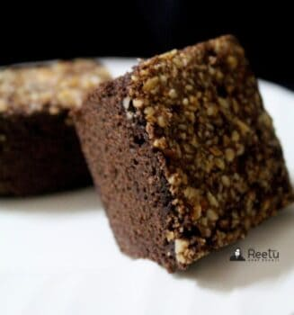Chia Chocolate Brownie - Plattershare - Recipes, Food Stories And Food Enthusiasts