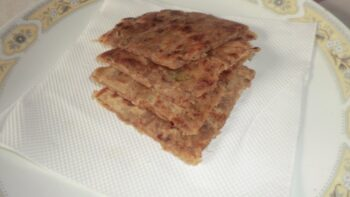 Sweet Potato Paratha - Plattershare - Recipes, Food Stories And Food Enthusiasts