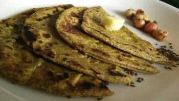 Flax Seed Paratha - Plattershare - Recipes, Food Stories And Food Enthusiasts