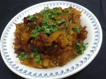 Pumpkin Sabji - Plattershare - Recipes, Food Stories And Food Enthusiasts