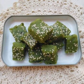 Green Peas Barfi - Plattershare - Recipes, Food Stories And Food Enthusiasts