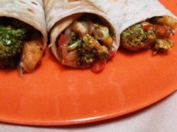 Broccoli Kati Roll - Plattershare - Recipes, Food Stories And Food Enthusiasts
