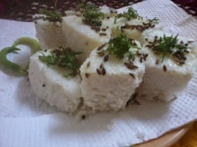 White Dhokla - Plattershare - Recipes, Food Stories And Food Enthusiasts