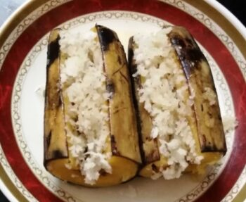 Steamed Plantains With Coconut Fillings - Plattershare - Recipes, Food Stories And Food Enthusiasts