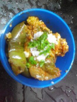 Brinjal Bhaji - Plattershare - Recipes, Food Stories And Food Enthusiasts