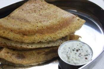 Crispy Dosa With Leftover Rice - Plattershare - Recipes, Food Stories And Food Enthusiasts