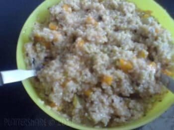 Vegetable Porridge - Plattershare - Recipes, Food Stories And Food Enthusiasts