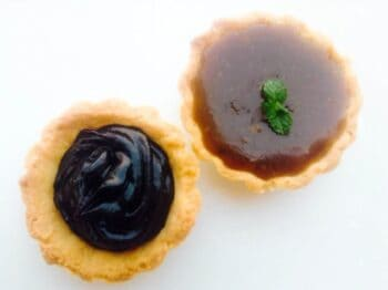 2 Way Chocolate And Coffee Caramel Tarts - Plattershare - Recipes, Food Stories And Food Enthusiasts