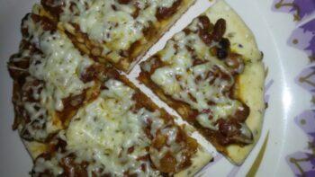 Rajma Pizza - Plattershare - Recipes, Food Stories And Food Enthusiasts