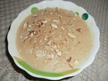 Sweet Potato Kheer - Plattershare - Recipes, Food Stories And Food Enthusiasts