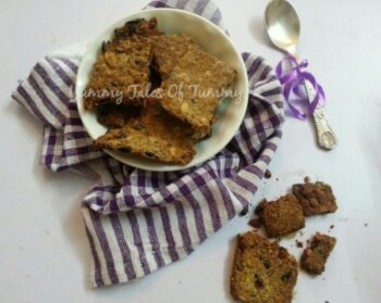 Savoury Chia Seed Crackers - Plattershare - Recipes, Food Stories And Food Enthusiasts