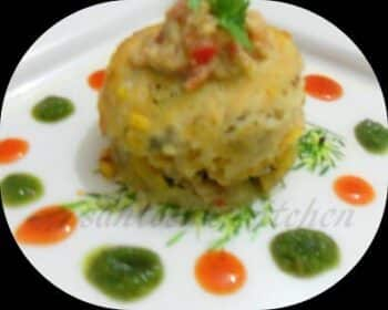 Lasagnia -A Twist In Upma - Plattershare - Recipes, Food Stories And Food Enthusiasts