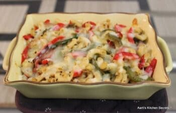 Bell Pepper &Amp; Cheese Macaroni - Plattershare - Recipes, Food Stories And Food Enthusiasts