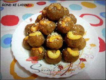 Gond Ke Laddu - Plattershare - Recipes, Food Stories And Food Enthusiasts