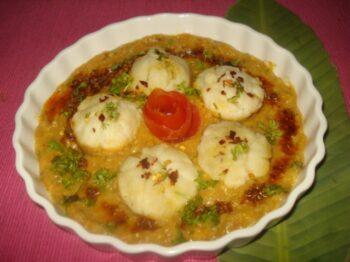Steamed Paneer Â????Vegetables Dumplings In Shahi Sauce - Plattershare - Recipes, Food Stories And Food Enthusiasts