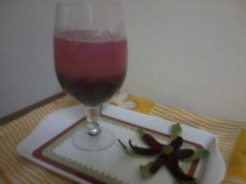 Beetroot &Amp; Raw Mango Drink - Plattershare - Recipes, Food Stories And Food Enthusiasts