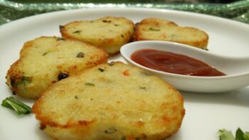 Semolina Heart Cutlets With Philips Airfryer - Plattershare - Recipes, Food Stories And Food Enthusiasts