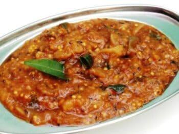 Chidambaram Kathirikai / Brinjal Gothsu - Plattershare - Recipes, Food Stories And Food Enthusiasts