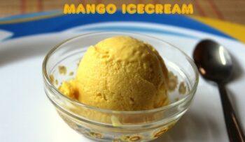 Mango Icecream - Plattershare - Recipes, Food Stories And Food Enthusiasts