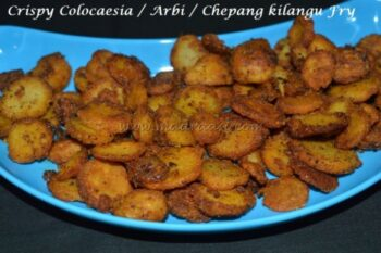 Crispy Colocaesia Fry - Plattershare - Recipes, Food Stories And Food Enthusiasts