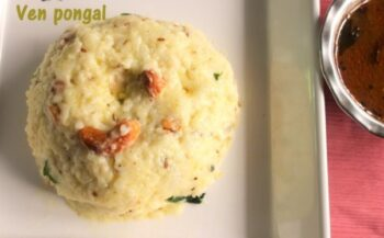 Ven Pongal Or Ghee Pongal - Plattershare - Recipes, Food Stories And Food Enthusiasts