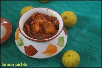 Lemon Pickle - Plattershare - Recipes, Food Stories And Food Enthusiasts