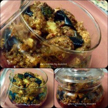 Murg Aur Baigan Ka Achar - Plattershare - Recipes, Food Stories And Food Enthusiasts