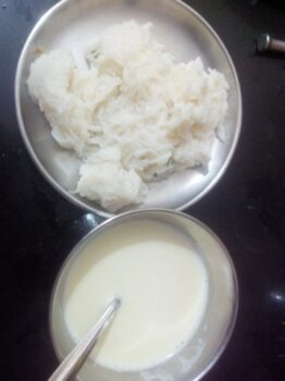 Shevya And Cocount Milk - Plattershare - Recipes, Food Stories And Food Enthusiasts