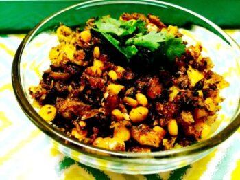 Karela Keema With Chana Daal (Bitter Gourd Keema) - Plattershare - Recipes, Food Stories And Food Enthusiasts