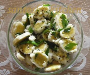 Vegetarian Egg - Healthy Fat Free Snack - Plattershare - Recipes, Food Stories And Food Enthusiasts
