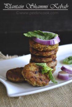 Plantain Shammi Kabab - Plattershare - Recipes, Food Stories And Food Enthusiasts