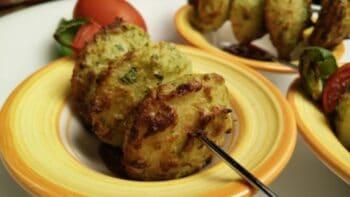 Air Fryed Idli Tikka - Plattershare - Recipes, Food Stories And Food Enthusiasts