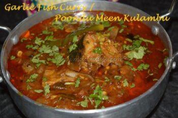 Garlic Fish Curry / Poondu Meen Kulambu - Plattershare - Recipes, Food Stories And Food Enthusiasts