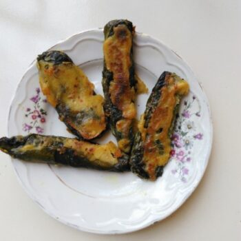 Pumpkin Leaves Roll - Plattershare - Recipes, Food Stories And Food Enthusiasts