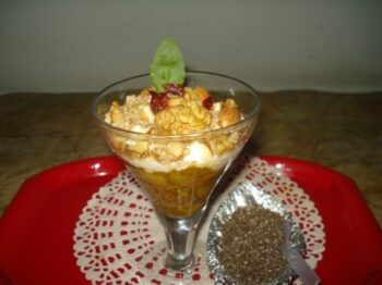 Fruity Yogurt Pudding With Berries And Chia Seeds - Plattershare - Recipes, Food Stories And Food Enthusiasts