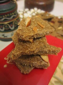Dussehra And Diwali Delights: Gluten-Free Rajgira Burfi Shards - Plattershare - Recipes, Food Stories And Food Enthusiasts
