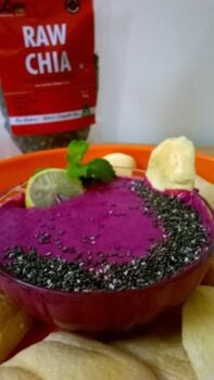 Chia Seeds Beetroot &Amp; Yogurt Dip - Plattershare - Recipes, Food Stories And Food Enthusiasts