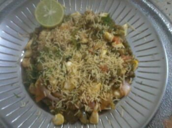 Sprout Corn Chaat - Plattershare - Recipes, Food Stories And Food Enthusiasts