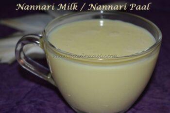 Nannari Milk / Nannari Paal - Plattershare - Recipes, Food Stories And Food Enthusiasts